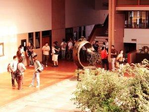 Patio Interno de la Facultad de Ciencias Exáctas Físicas y Naturales